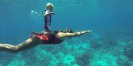 Kinh ngạc cậu bé 3 tuổi có khả năng 'tung tăng' dưới biển ở độ sâu 8m trong vòng 20 phút