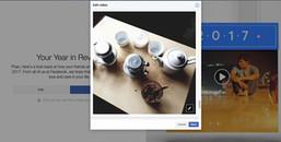 Facebook vừa có chế độ 'Nhìn lại một năm' rồi đấy, bạn đã thử tổng kết những gì mình trải qua chưa?