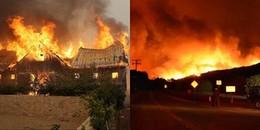 Thảm họa cháy rừng tái diễn tại California: Ngọn lửa kinh hoàng vẫn nằm ngoài tầm kiểm soát
