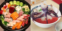 """Những món """"ăn tươi nuốt sống"""" cực kì hấp dẫn ở Nhật Bản bạn có dám thử?"""