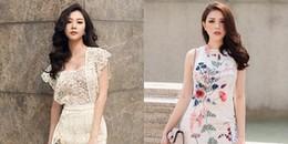 'So găng'' đẳng cấp thời trang siêu ''chất'' của 2 quán quân The Look