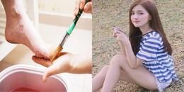 Paraffin wax: Phương pháp làm đẹp mới giúp bắp chân thon gọn gây 'sốt' trong giới chị em