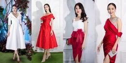 Dàn Hoa hậu, Á hậu khoe sắc 'đẹp đốn tim' trên thảm đỏ thời trang