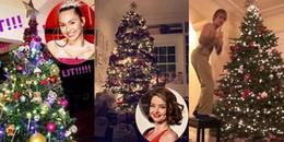 yan.vn - tin sao, ngôi sao - Khi sao Hollywood thi nhau trang trí Giáng sinh, cây thông nhà ai hoành tráng nhất?
