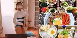 Phát thèm với thực đơn 'thần thánh' càng ăn càng giảm và 'khỏe như vâm' của cô nàng gợi cảm