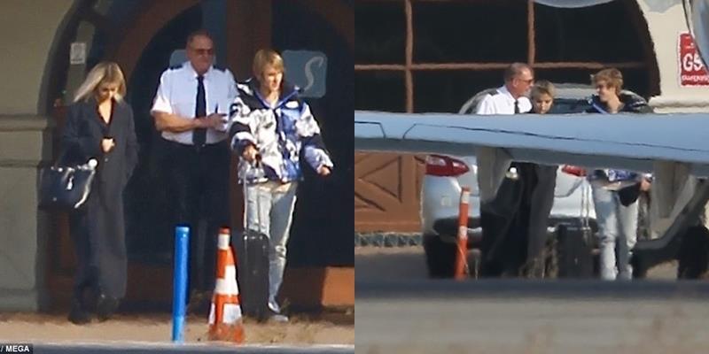 yan.vn - tin sao, ngôi sao - Ai sang chảnh như Justin Bieber, Selena Gomez khi du lịch bằng phi cơ riêng