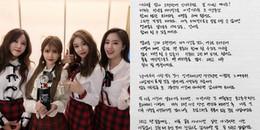 Nghẹn ngào với bức thư tay của Hyomin, chính thức thông báo T-ara tan rã