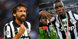 Pirlo, Pogba,... và những cầu thủ '0 đồng' đình đám của 'Lão bà thành Turin'
