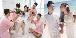 yan.vn - tin sao, ngôi sao - Loạt ảnh cưới hài hước của em gái Trấn Thành và ông xã người Hồng Kông
