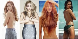yan.vn - tin sao, ngôi sao - Điểm danh loạt nữ thần Kbiz gây ấn tượng mạnh với hình ảnh ngực trần quyến rũ
