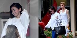 Chỉ khi bên cạnh Justin Bieber, Selena Gomez mới lại tươi cười hạnh phúc
