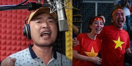Ông xã 'Hoa hậu hài' Thu Trang phá lệ làm điều này vì tuyển U23 Việt Nam