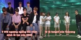 Những khoảnh khắc đẹp khi các Idol Kpop trở thành fanboy fangirl đáng yêu hết nấc