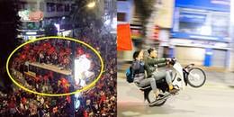 """'Bão"""" khắp phố sau chiến thắng của U23 Việt Nam: 'Vui thôi, đừng vui quá' hỡi các thanh niên ơi!"""