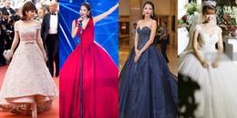 Những bộ cánh biến 'lọ lem' trở thành 'công chúa' của mỹ nhân Việt