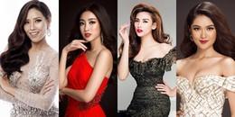 Dàn Hoa hậu, Á hậu háo hức dự đoán tân Hoa hậu Hoàn vũ Việt Nam 2017