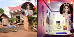 Nhà của Hoa hậu Việt khi đăng quang: Người bình dị đơn sơ, người giàu sang thế này