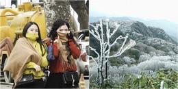 Không khí lạnh tăng cường, vùng núi cao xuất hiện băng giá, Hà Nội rét nhất trong vòng 2 năm qua