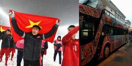 Lộ diện 'siêu xe' sẽ đưa U23 Việt Nam diễu hành tại Hà Nội vào ngày mai
