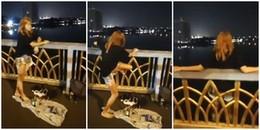 Quá buồn bã vì cãi nhau với bạn trai, cô gái quay livestream cảnh mình nhảy cầu tự tử
