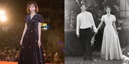 Min diện đầm 50 triệu đồng 'đụng' Song Hye Kyo: Ai xuất sắc hơn ai?