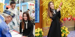 Hồ Ngọc Hà diện áo dài kín đáo giữa tin đồn sắp kết hôn với Kim Lý
