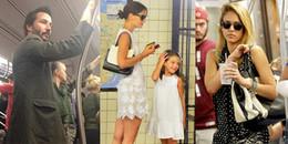 """Những ngôi sao dù giàu sụ nhưng vẫn thích đi tàu điện ngầm như """"thường dân"""""""