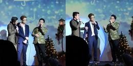 Bộ ba 'Anh trai mưa' khủng nhất hệ mặt trời cất tiếng hát: Quốc Thiên, Bùi Anh Tuấn, Trung Quân Idol
