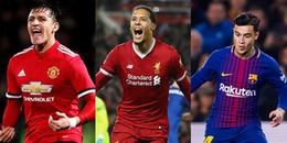 Đội hình những bản hợp đồng chất lượng trong tháng 1: Bom tấn mang tên Sanchez, Van Dijk, Coutinho