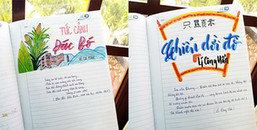 Đã bảo học Văn là phải 'bay bổng', lãng mạn thì tập cũng thành tranh và văn cũng thành thơ ngay thôi
