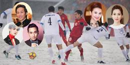 Dù thất bại nhưng U23 Việt Nam vẫn là nhà vô địch trong lòng sao Việt