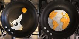 Chỉ là món ăn từ trứng thôi mà cũng đẹp như những bức tranh nghệ thuật