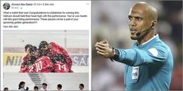 Sau trận chung kết Châu Á, trọng tài người Oman đã có phát biểu bất ngờ về U23 Việt Nam