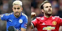 Tin hot chuyển nhượng 31/1/2018: Man City ra giá 'điên rồ' cho Mahrez, Mata gia hạn với Man United