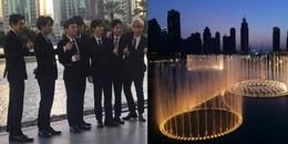 Fan Kpop ghen tị phát hờn với sân khấu nhạc nước hoành tráng fan Dubai dành cho EXO
