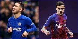Tin hot chuyển nhượng 7/1/2018: Hazard từ chối Chelsea, Barca kết thúc thương vụ Coutinho