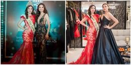 Lần đầu tiên dự sự kiện ở Việt Nam, Hoa hậu Trái đất 2017 bị Võ Hoàng Yến - Diễm Hương 'chặt đẹp'