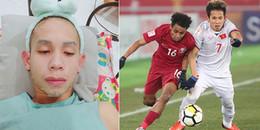 Hồng Duy – chàng tiền vệ bình tĩnh nhất Việt Nam, trước giờ bóng lăn vẫn tranh thủ 'bán son'