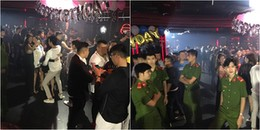 """Kiểm tra bất ngờ quán Kasho bar, phát hiện hơn 200 nam thanh nữ tú đang """"phê"""" bóng cười và shisha"""