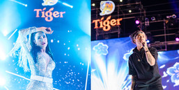 """yan.vn - tin sao, ngôi sao - Dàn sao Việt """"choáng"""" với độ sung của 120.000 khán giả Tiger Remix tại Quy Nhơn"""