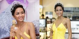 Hoa hậu H'Hen Niê diện 'nhầm váy ngủ' đi sự kiện khiến ai cũng ngước nhìn