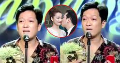 Clip: Trường Giang bất ngờ cầu hôn Nhã Phương trên sóng truyền hình