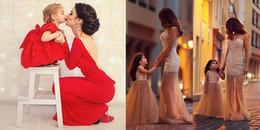 Những bức ảnh 'song sinh' của mẹ và bé khiến ai cũng muốn có ngay con gái
