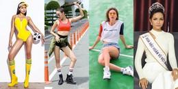 Dàn Hoa hậu, Á hậu 'thi nhau' dự đoán kết quả Chung kết của U23 Việt Nam