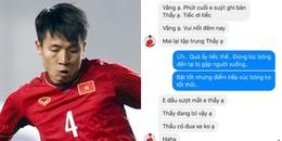 Trung vệ Tiến Dũng tự trách mình khi suýt khiến U23 Việt Nam mất vé vào chung kết