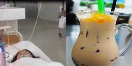 Nữ sinh 14 tuổi bị ngộ độc, suy đa cơ quan nghi vì uống nhiều trà sữa không rõ nguồn gốc
