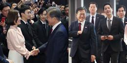 'Nối gót' bà xã, Song Joong Ki cũng được đích thân gặp gỡ Tổng thống Hàn Quốc