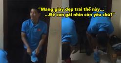 Quang Hải, Đức Chinh không chịu mang dép đi gội đầu vì sợ 'xấu trai con gái không yêu'