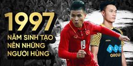 1997: Năm sinh 'lịch sử' tạo ra những người hùng của đội tuyển U23 Việt Nam