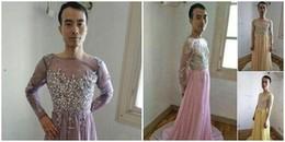 Thử váy chiều 'thượng đế', ông chủ cửa hàng online khiến cư dân mạng cười ra nước mắt